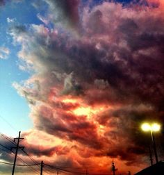 A picture of the sky.