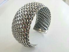 #thelittleshopathens#Silvercuffbracelet #elegant#jewelry #bracelet #silver #steampunk #boho #cuffbracele #cuffbracelet #silverweave #cuff #handmade http://etsy.me/2o12YqN