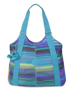 Kipling Women'S Alvar Shoulder Bag Summer Stripe 41