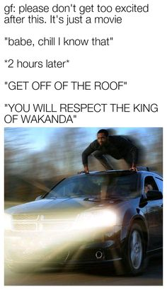 Notice the choice of car for this Marvel Meme