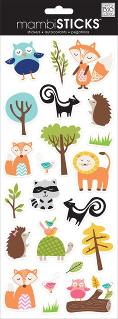 """Each 5"""" x 12"""" clear sticker package contains sayings and icons that are perfect for adding directly on photos or to any papercrafting project. Forget the time consuming photo editing software...simply"""