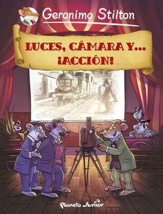 Luces, cámara y. ebook by Geronimo Stilton - Rakuten Kobo Geronimo Stilton, Reading Habits, Fiction, Books, Products, Libros, Time Travel, Beds, Hilarious