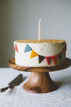 homemade funfetti cake.