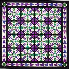 Kaleidoscope Paper Piecing by Martingale | That Patchwork Place, via Flickr