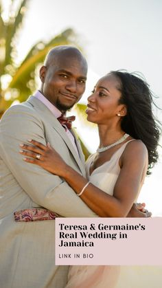 See stunning shots from Teresa & Germaine's Real Wedding at Royalton White Sands Resort and Spa in Jamaica!