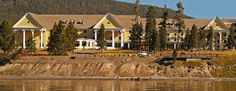 Lake Yellowstone Hotel - stay here unless you get overrun, then take a boat to Frank Island in the middle of the lake