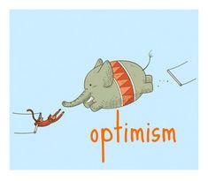 a lovely illustration for optimism