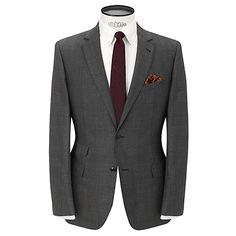 Casual grey suit - english tailoring