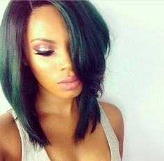 Bob hairstyles are the ones that will suit every texture and every face shape. Get ready to chop off your locks because these Gorgeous Bob Hairstyles for Black Women will tempt you beyond your imagination. Love Hair, Great Hair, Gorgeous Hair, Long Bob Styles, Short Hair Styles, Weave Hairstyles, Pretty Hairstyles, Black Hairstyles, Summer Hairstyles