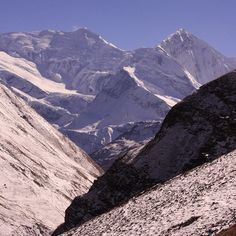 """""""A magnificent view of Annapurna mountain range, Nepal Himalayas."""" #Nepal #Annapurna #Trek #Himalayas"""