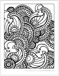 Intricate Adult Coloring Pages for Free to download and print ...