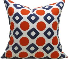 Red, White & Blue Pillow  by Observatory Place