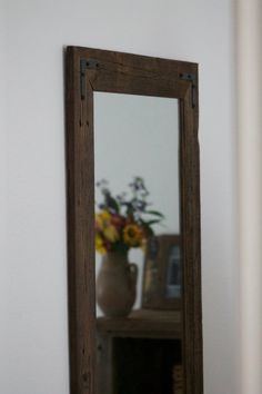 Pair Of Mirrors   Rustic Wall Mirror   Large Wall Mirror   24 X 36 Vanity  Mirror   Bathroom Mirror   Rustic Mirror   Reclaimed Wood Mirror