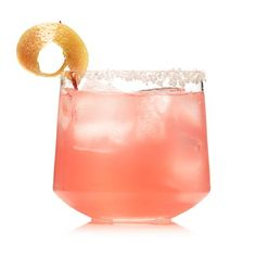 Pink Salty Dog on the Rocks for only 72 calories | Health.com