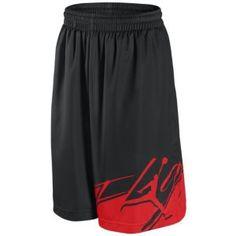 Jordan Colors Of Flight Short - Men's - Basketball - Clothing - Black/Varsity Red