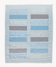 Mere - Limited Edition | Painted & Patched; colors, simple pattern, wavy quilting
