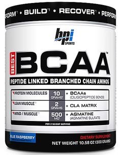 BPI Sports Best BCAA - An advanced BCAA supplement that will help you reduce soreness and speed recovery!