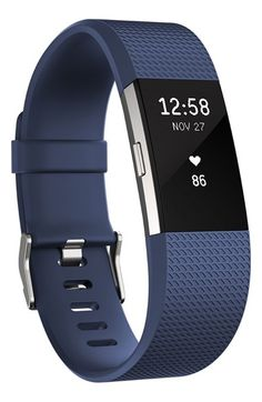 Free shipping and returns on Fitbit 'Charge 2' Wireless Activity & Heart Rate Tracker at Nordstrom.com. This sleek, sporty wristband motivates you to achieve your fitness goals by calculating steps taken, calories burned, elevation climbed and distance traveled throughout the day and features a low-profile display to indicate your real-time progress. Record your workouts with multi-sport modes that give you real-time stats on screen or use the on-board SmartTrack technology to automatically…