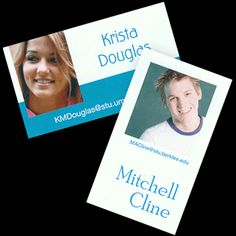 Full Color Photo Name Cards