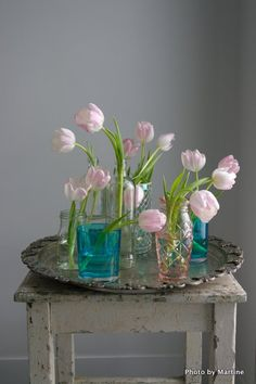 beatiful tulips and styling by martine