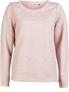 DETAIL PULLOVER, Rose Smoke