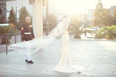 my absolute favorite wedding blog . she does first look shots of just the bride and groom right before the wedding. so cute.