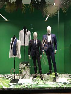 Pierre Cardin/ Suit Men Window Display