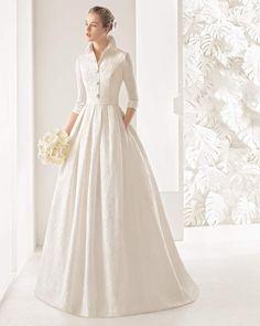 Mariage en hiver : Robe de mariée Nefer par Rosa ClaraRobe de mariée Nefer par Rosa Clara
