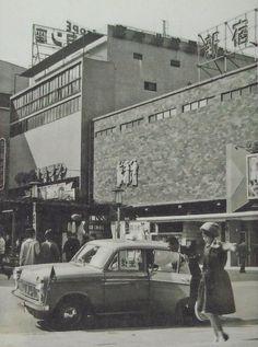 昭和スポット巡り on Twitter  昭和30年代 新宿 コマ劇場前広場
