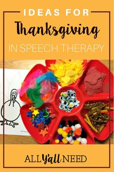Gobbling Up Holiday Goodies with The Frenzied SLPs! Read to find out about the cornucopia of activities, ideas, and even a recipe to help celebrate all the many blessings my students and myself are thankful for. Social Skills Activities, Speech Therapy Activities, Speech Language Pathology, Language Activities, Speech And Language, Classroom Activities, Autism Classroom, Language Arts, Classroom Ideas