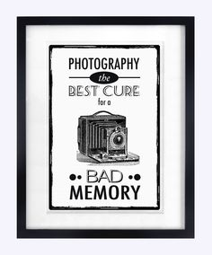 Photography Print, Black and White Art, Wall Art, Humorous Poster, Art Print. $18.70, via Etsy.