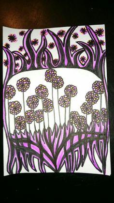 Cela pourrait être un motif de tissus, de papier peint / motif original de Christine Garcia