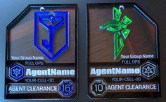 Sms another model badge Etsy https://www.etsy.com/nl/listing/172444664/elite-agent-badge-custom-name-group-cell