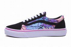 823665e81494 Vans Old Skool Rainforest Black Red Maple Leaf Mens Shoes  Vans Vans Skate  Shoes