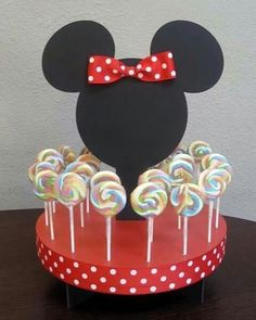 Mickey e Minnie Mouse Fiesta Mickey Mouse, Minnie Mouse Theme, Mickey Mouse Clubhouse Birthday, Baby Mickey, Mickey Party, Mickey Mouse Birthday, 2nd Birthday Parties, Baby Birthday, Birthday Decorations
