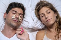 """This Noise-Canceling """"Nosepiece"""" Silences The Snores Of The Person Snoring Next To You - Interesting way to use noise cancelling technology!!"""