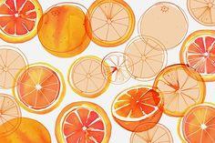 Margaret Berg Art: Blood Oranges
