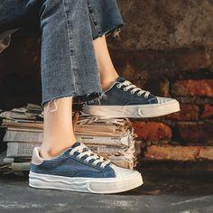Women's #blue casual shoe #sneaker texture stripe design Lace Up Shoes, Blue Shoes, Blue Canvas, Shoe Shop, Stripes Design, Casual Shoes, Shoes Sneakers, Texture, Sport