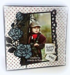 Jolanda's Creaties: februari 2015 Kids Cards, Blog, Create, Happy, Den, Roses, Butter, Scrapbooking, Home Decor