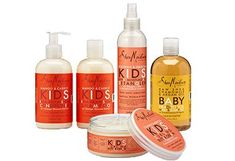 Shea Moisture Kids Line voted best for curly haired kids...you can get it at Walgreens and some other not expensive places...I love the other products of this brand, so I don't see why this wouldn't be great, too.