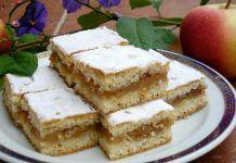 Prăjitură fragedă cu mere(de post). O prăjitură gustoasă cu ingrediente la indemana tuturor