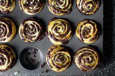 Chocolate Swirl Buns Recipe on Yummly. @yummly #recipe