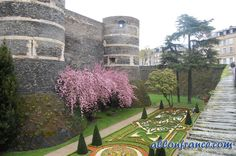 Angers Chateau-Loire Valley http://allonfrance.com/road-trip-to-the-loire-valley/
