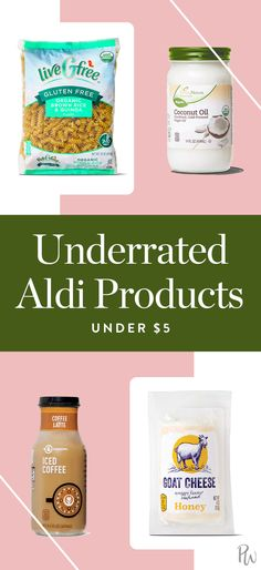 Underrated Aldi Products Under $5 You Should Definitely Be Buying via @PureWow via @PureWow