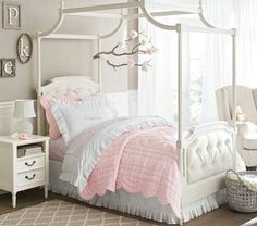 Super cute little girls room