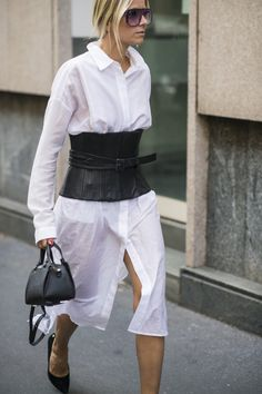Pin for Later: All the Best Street Style From Milan Fashion Week Milan Fashion Week, Day 4 Celine Aagaard.