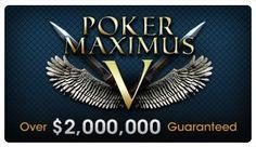 poker maximus 2M guaranteed