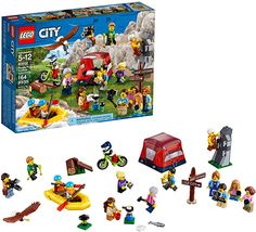 LEGO City People Pack – Outdoors Adventures 60202 Building Kit Piece) for sale online Lego People, City People, Lego Ninjago, Ninjago Games, Legos, Camping Toys, Best Lego Sets, Lego Challenge, Lego City Sets