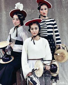 Dance of Spring, Vogue Korea May 2013