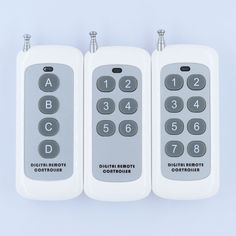 Small Size Long Range Remote Control 4 Button 6 Button 8 Button315433MHZ Transmitter RF ASK 2262 1527 Wireless Remote for Switch